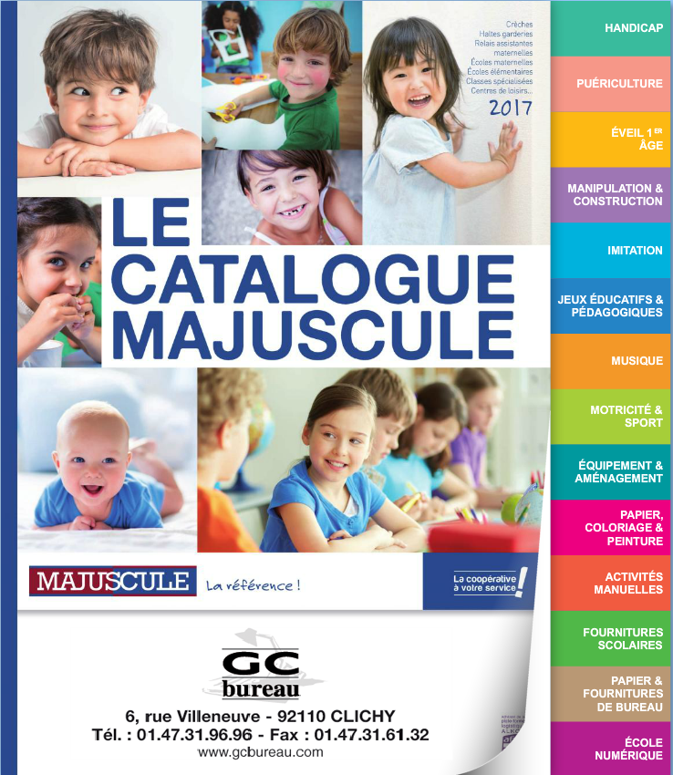 Gc bureau distribution de fournitures de bureau et de for Catalogue de bureau